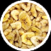 Bananenchips für Kaninchen und Nager
