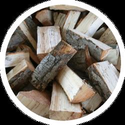Brennholz lose und frisch
