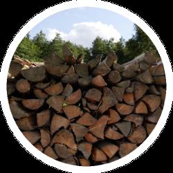 Brennholz - frisch und ofenfertig