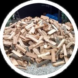 Brennholz lose geschüttet - trocken und ofenfertig